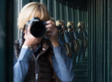 Michèle Buhofer, Mitglied des Inner Wheel Clubs Zug, ist passionierte Fotografin.