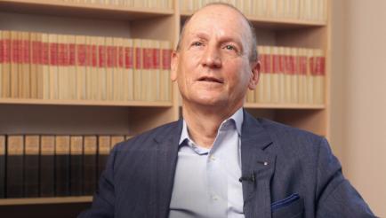 """Die Rotary Foundation gibt sehr viel zurück"", sagt André Kuy."