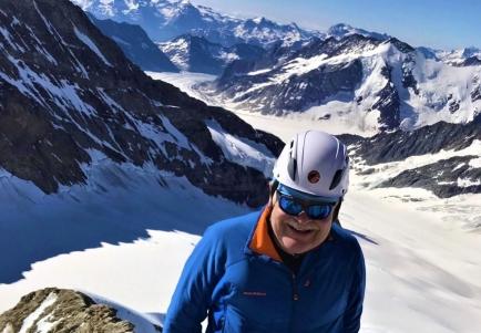 Der promovierte Neuropsychologe Martin Keller (Past President Rotary Club Bad Ragaz) ist passionierter Bergsteiger.