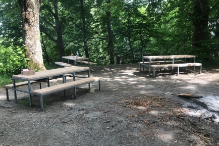 Gesamtsanierung der Familienfeuerstelle auf dem Freudenberg - Sa, 19.6.2021